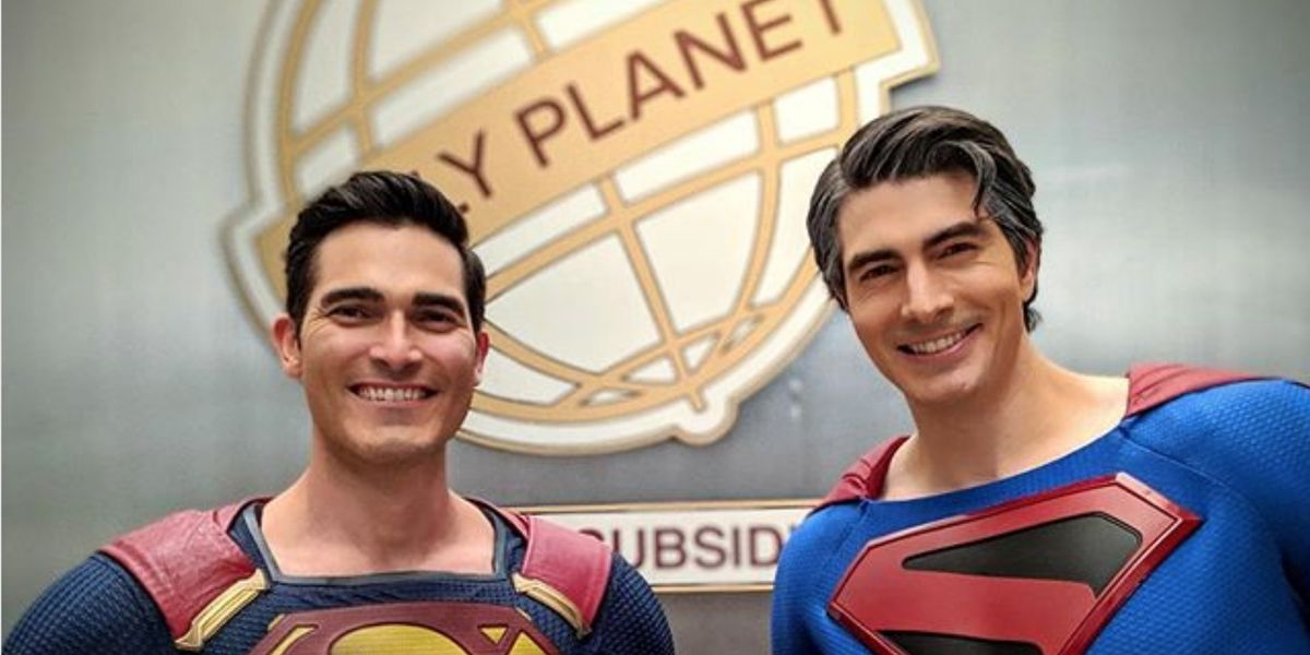 The image shared by Brandon Routh