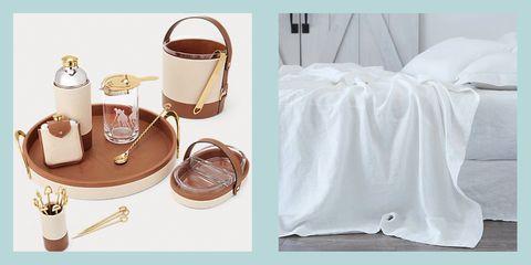White, Linens, Furniture,