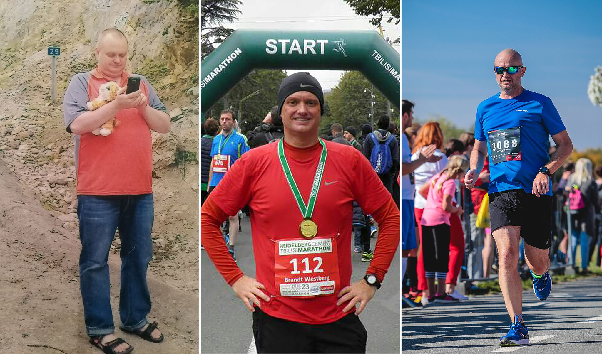 A Diabetes Diagnosis Sparked Him to Start Running—and Helped Him Drop 114 Pounds