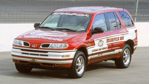 2002 oldsmobile bravada indy pacecar 8120 0007