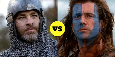 Outlaw King Vs Braveheart On Historical Accuracy