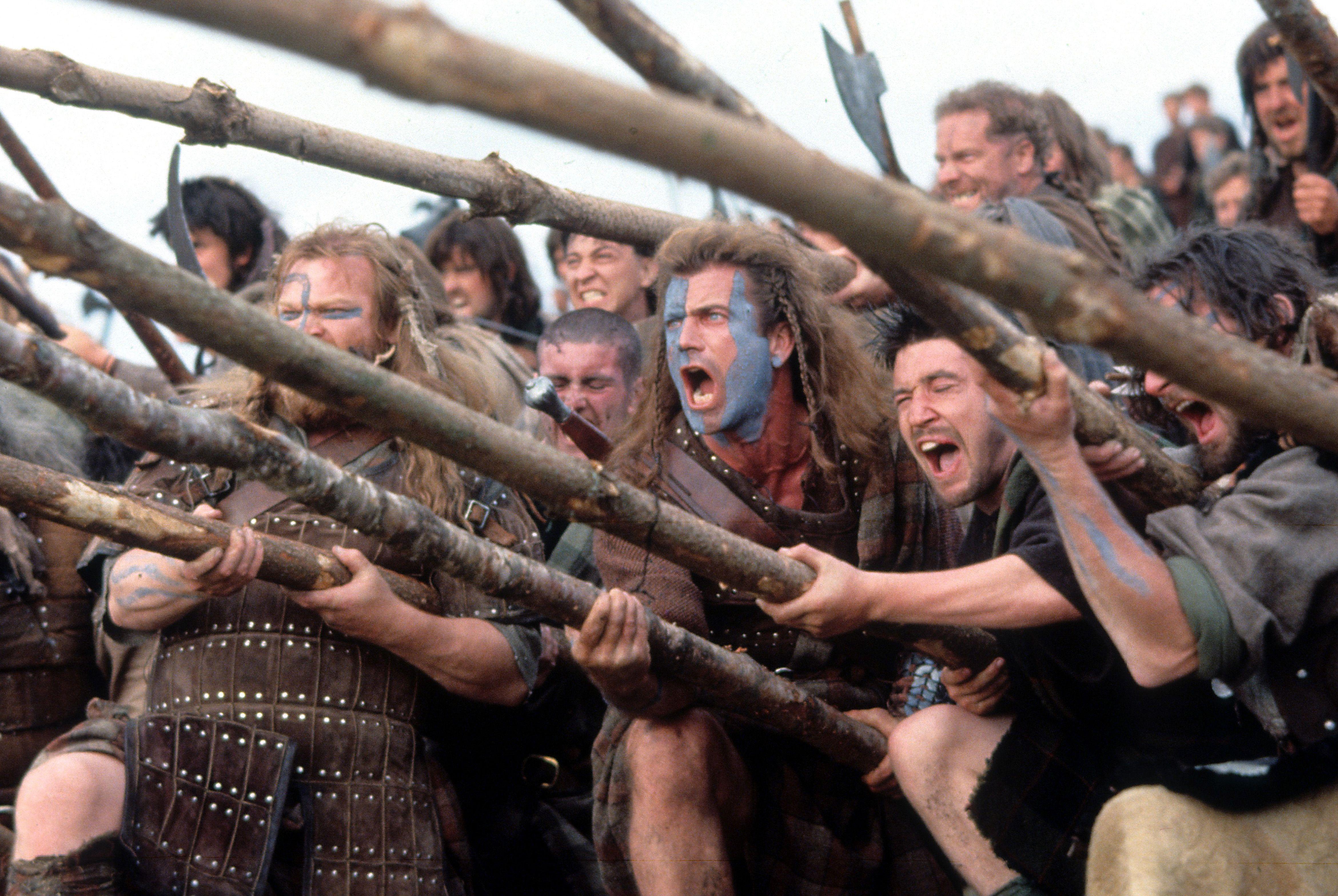 Todo lo que se inventó 'Braveheart' hace 25 años