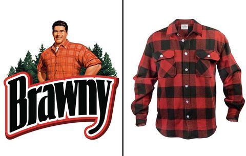 Brawny Man shirt