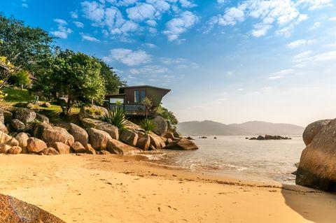 Exception Property with Private Beach, Santa Catarina, Brazil