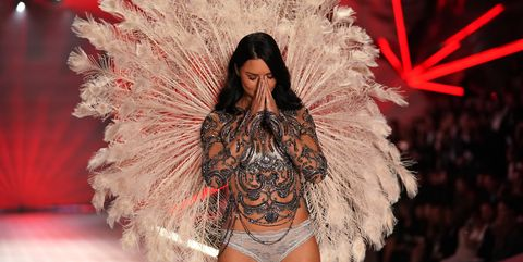 c40eb1916f Watch Adriana Lima s Final Walk for the Victoria s Secret Fashion Show
