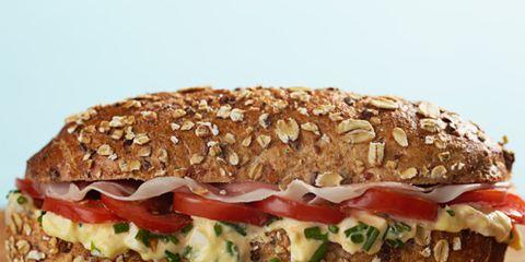 Food, Finger food, Cuisine, Produce, Ingredient, Vegan nutrition, Sandwich, Baked goods, Brown bread, Dish,
