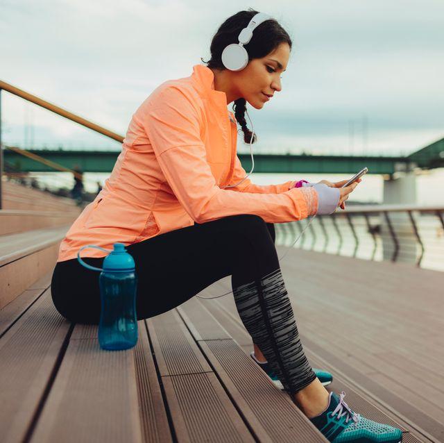 break after jogging