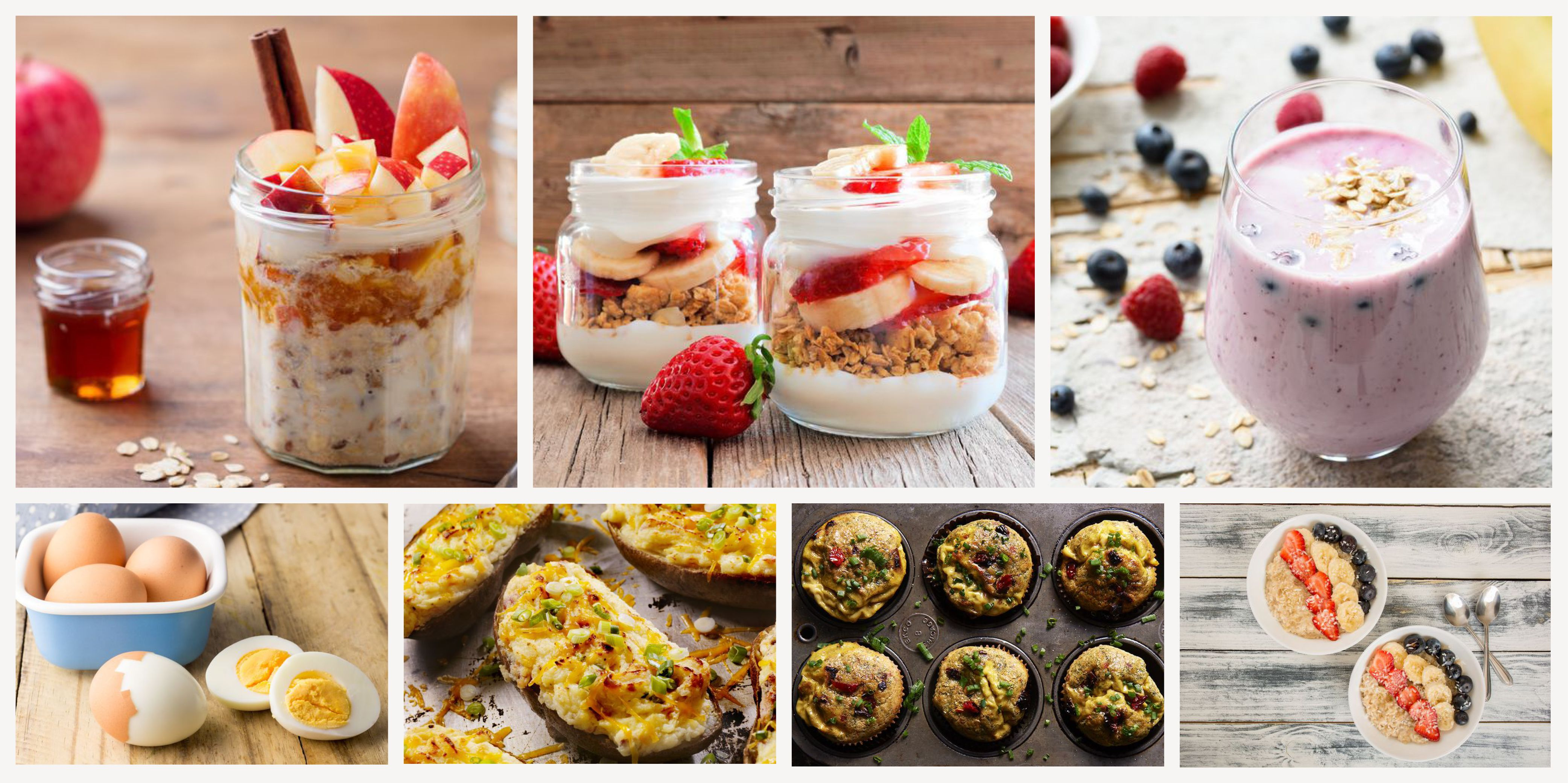 Quick Breakfast Ideas For Runners Healthy Grocery List