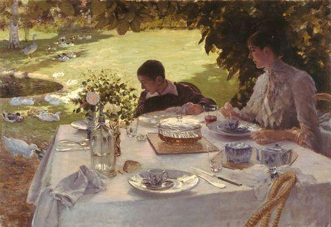 Breakfast-in-the-garden-Artist-De-Nittis-Giuseppe