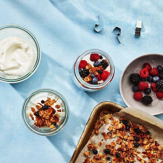 Food, Cuisine, Dish, Meal, Ingredient, Breakfast, Dessert, Vegetarian food, Berry, Superfood,