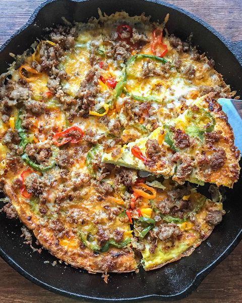 My Life Cookbook Breakfast Pizza