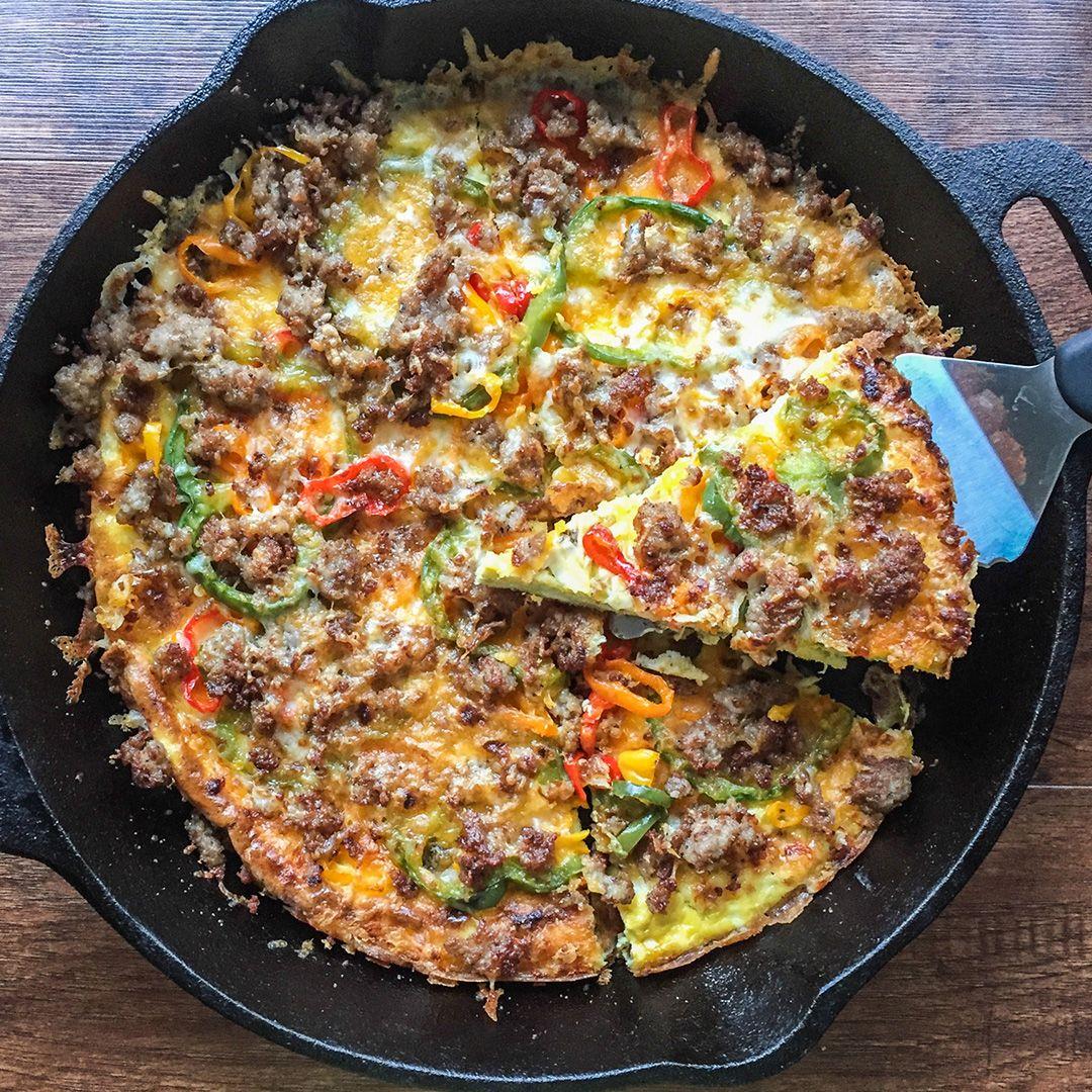My Life Cookbook Breakfast Pizza