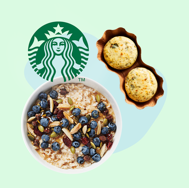 healthy starbucks' meals and snacks to make coffee runs that much better