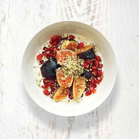 Fig, Pomegranate, Oats & Hemp Bowl