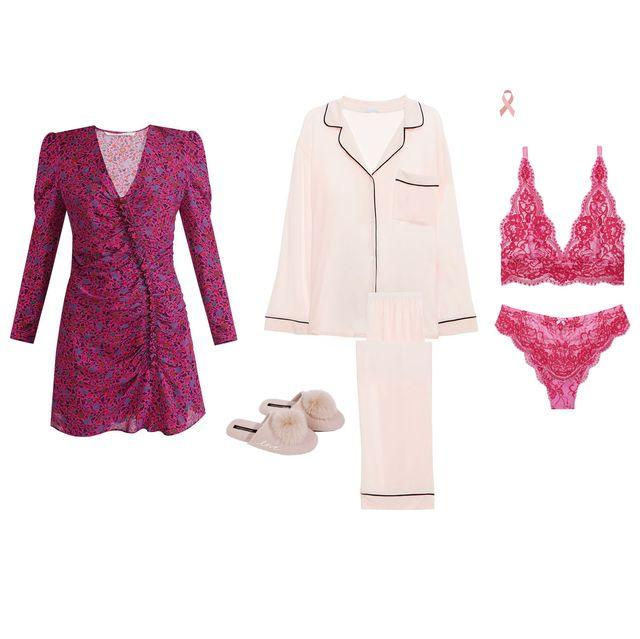 Clothing, Pink, Outerwear, Dress, Magenta, Blazer, Robe, Suit, Formal wear, Nightwear,