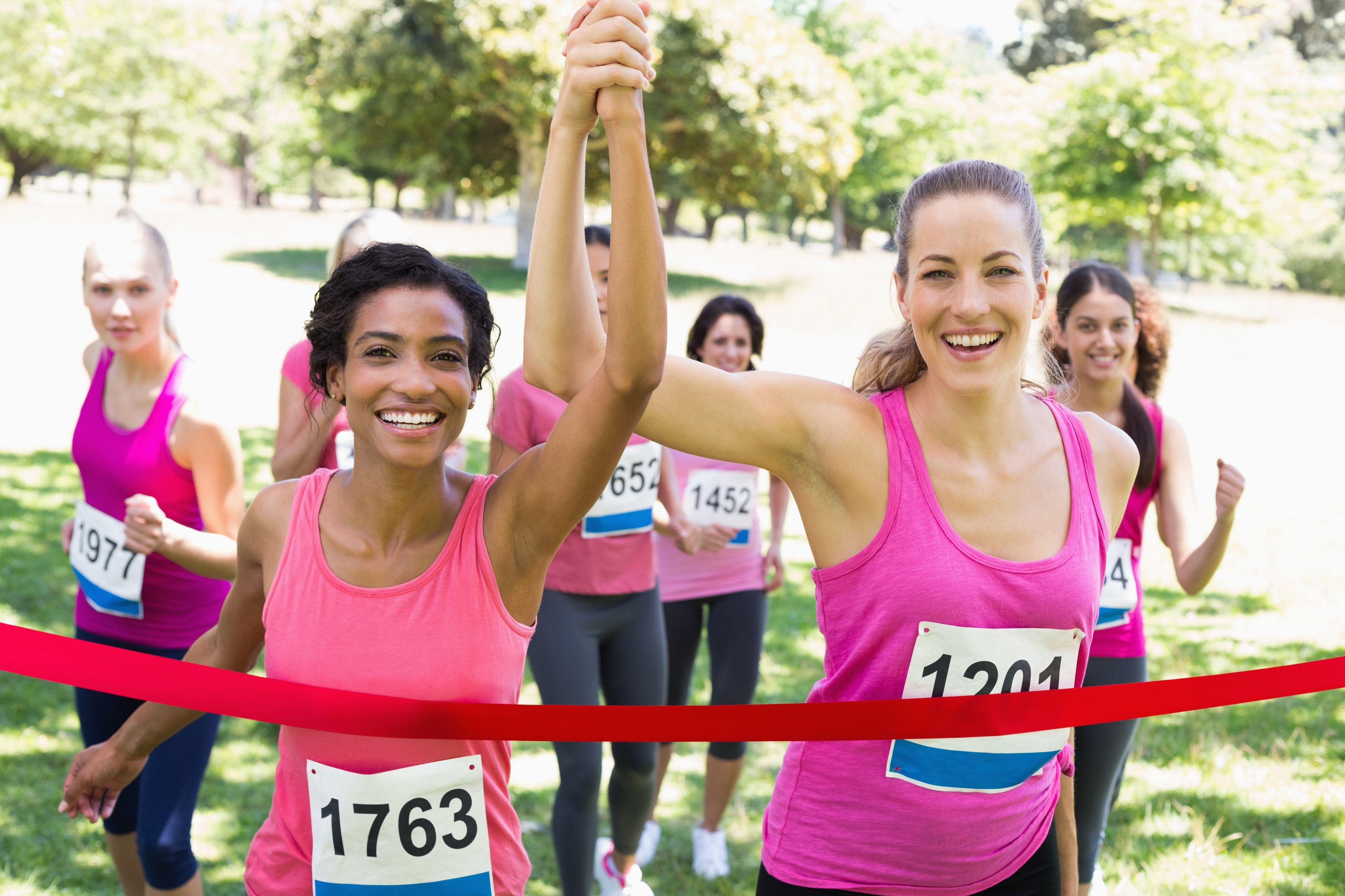 Breast cancer marathon reports