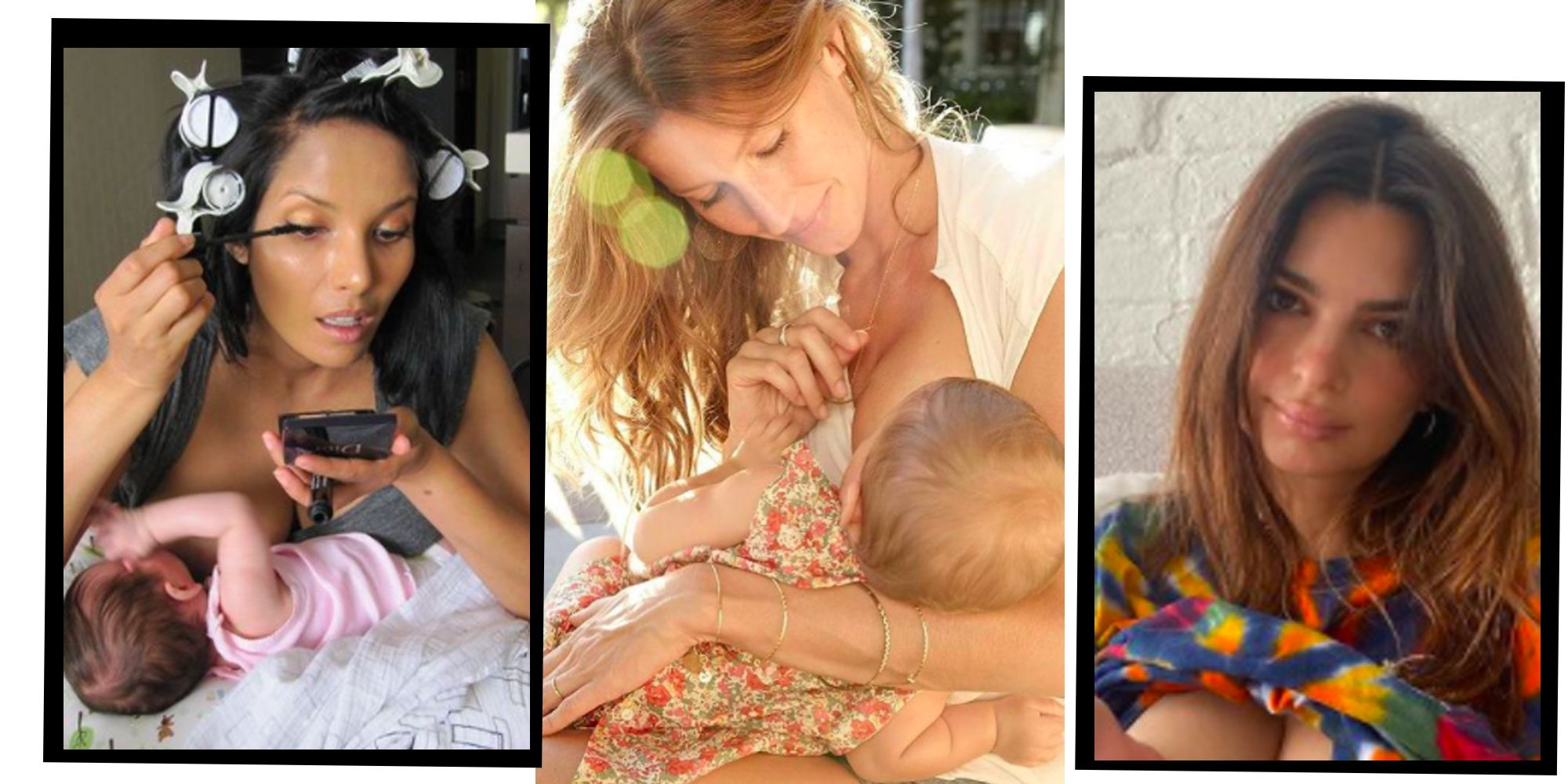 Breastfeeding Celebrities: Women Who Are Normalising The Age-Old Practice
