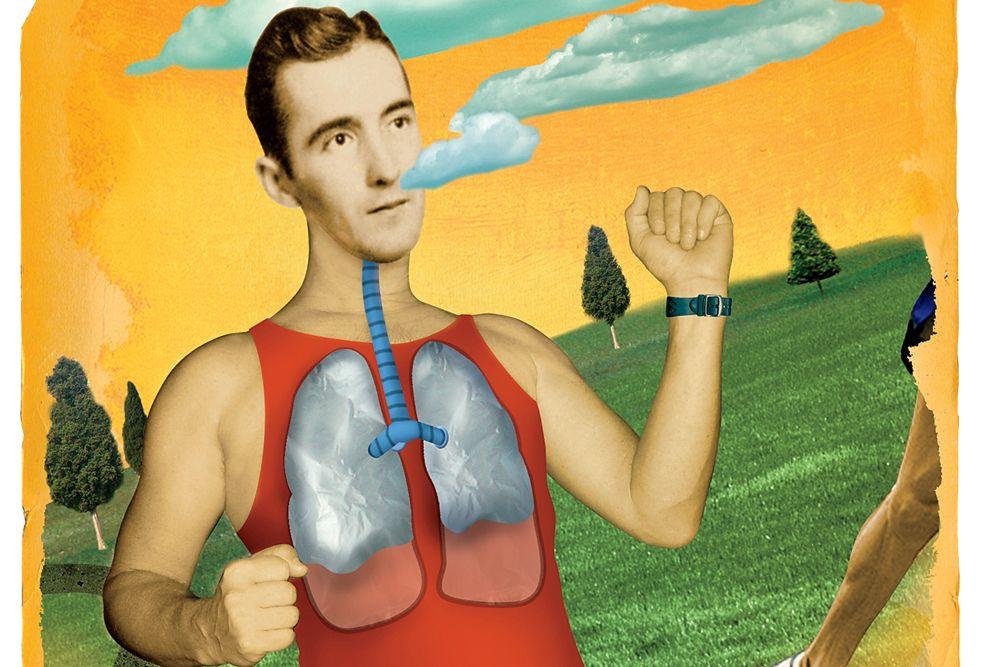 Lung Power Runner S World