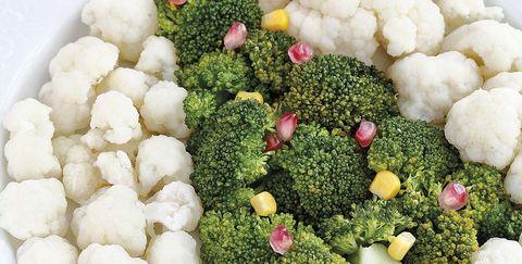 Recetas Navidad: Brécol y coliflor de Navidad