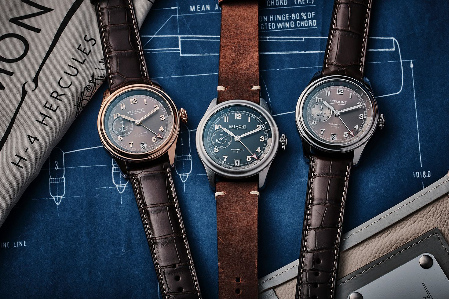 "Bremont's latest aviation special is a tribute to the H-4 Hercules ""Spruce Goose"""