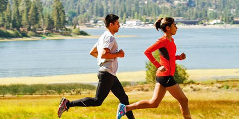 Footwear, Shoe, Recreation, Running, Athletic shoe, Exercise, Leisure, Outdoor recreation, Shorts, Physical fitness,
