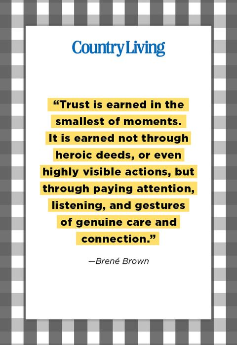 quote from brene brown about trust