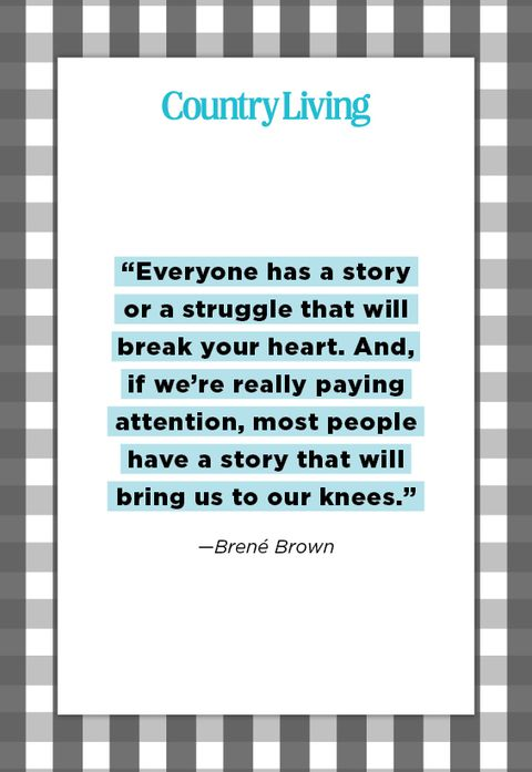 quote from brene brown about struggle