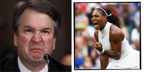 Brett Kavanaugh Serena Williams
