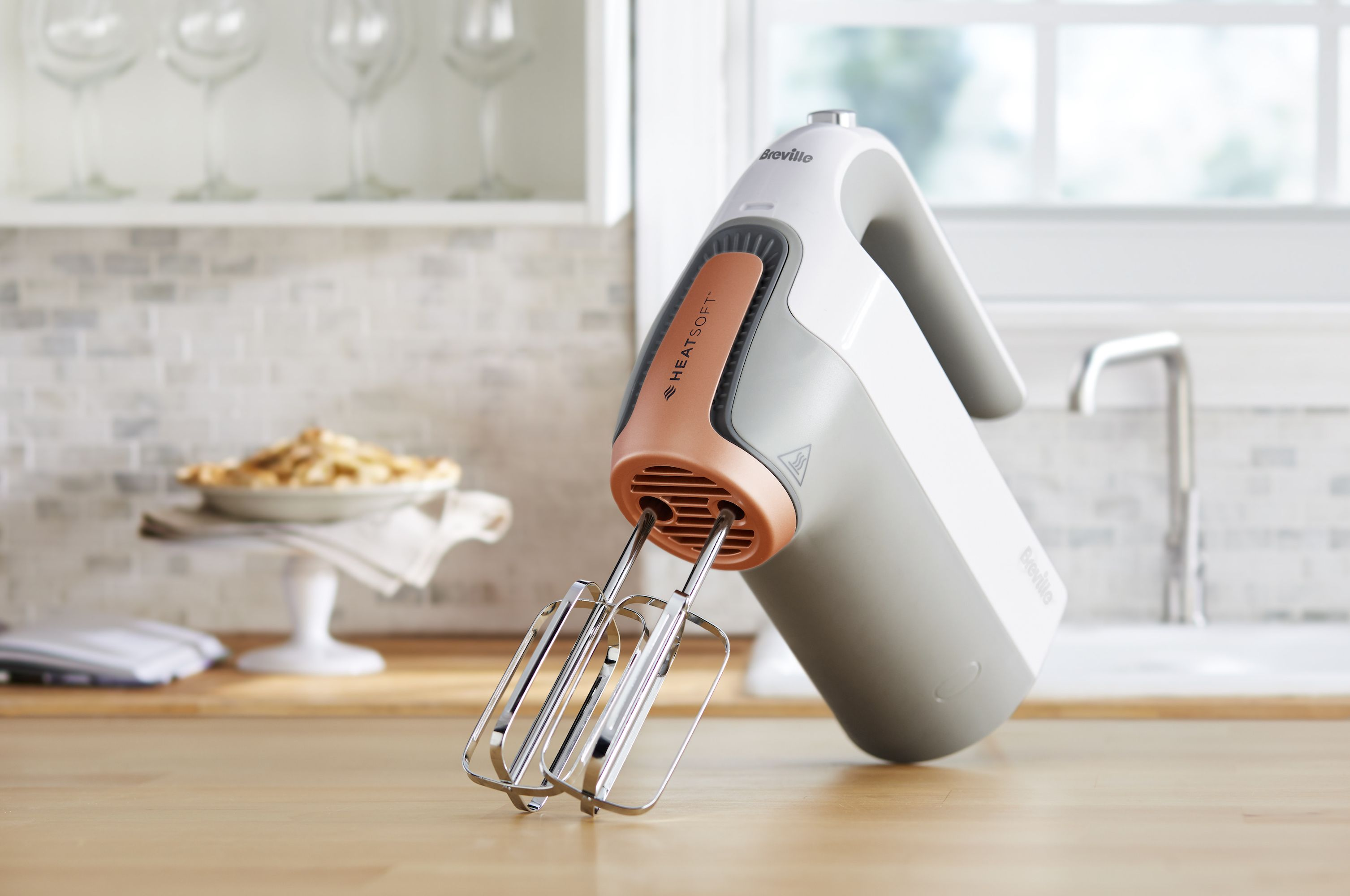 Breville has created a heated whisk that's made to soften butter