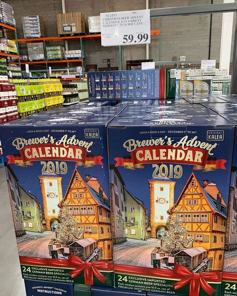 Costco Is Selling An Advent Calendar Filled With Cans Of Beer