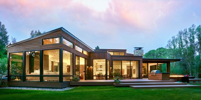 Modern home design Single Storey Modern Homes Elle Decor 30 Stunning Modern Houses Photos Of Modern Exteriors