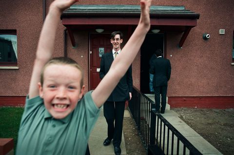 United Kingdom - Glenrothes - 1997 General Elections Rees-Mogg