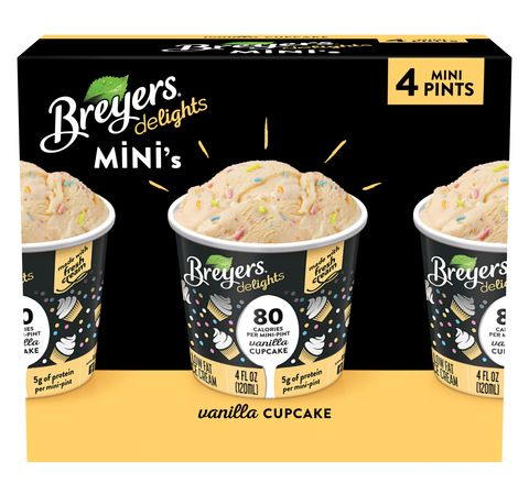 Breyers Now Sells 80 Calorie Mini Tubs Of Ice Cream That Taste Like