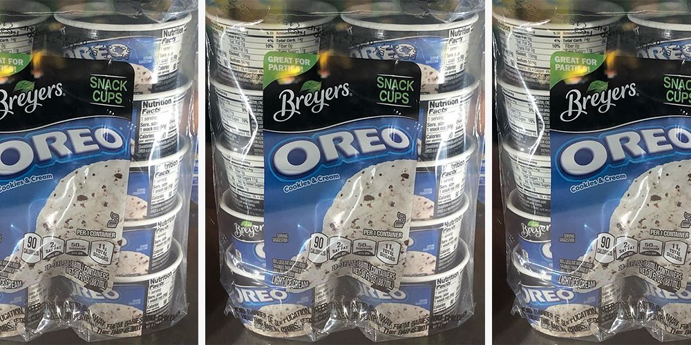 Walmart Is Selling 90 Calorie Oreo Ice Cream Cups