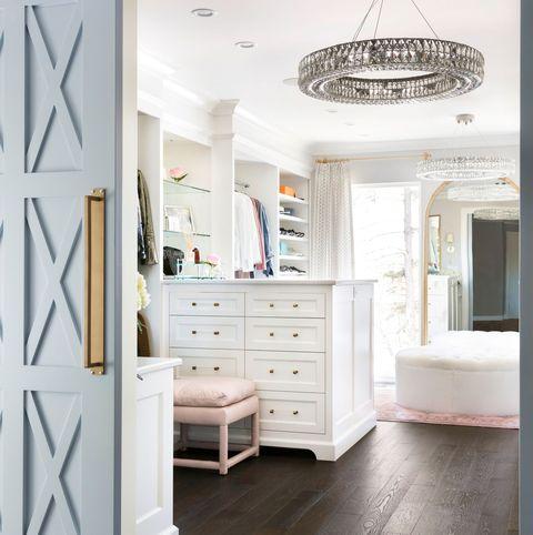 White, Room, Furniture, Interior design, Floor, Wall, Ceiling, Lighting, Flooring, Shelf,
