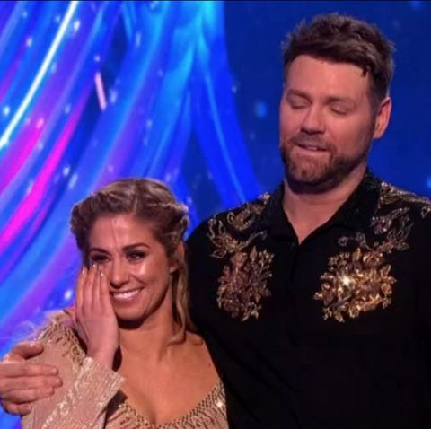 Dancing On Ice S Brian Mcfadden Is Eliminated In Semi Final After