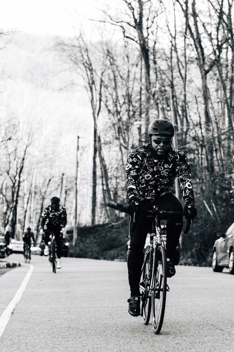 members of the black watts cycling group in new jersey