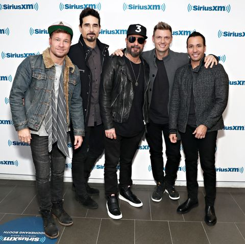Backstreet Boys Perform Live On SiriusXM Hits 1 At The SiriusXM Studios In New York City