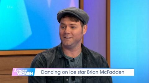Loose Women apologises after Brian McFadden reveals sweary Dancing on Ice secret
