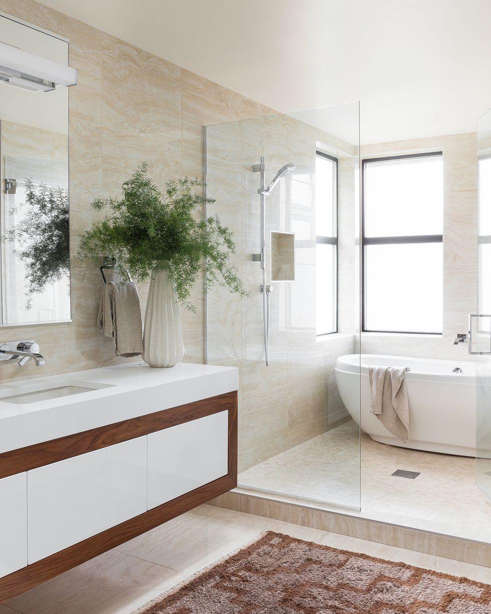 espaces modernes salle de bains