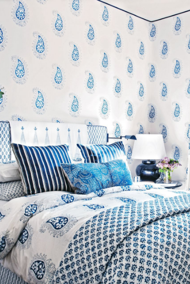 paisley bedroom