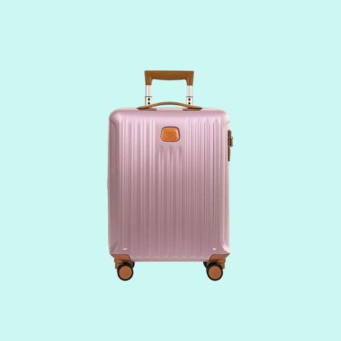 Suitcase, Hand luggage, Pink, Baggage, Bag, Luggage and bags, Peach,