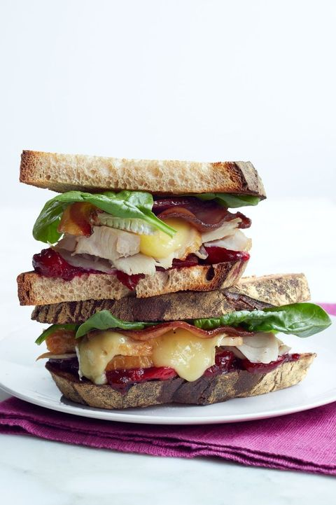 brie bacon cranberry turkey sandwich recipe