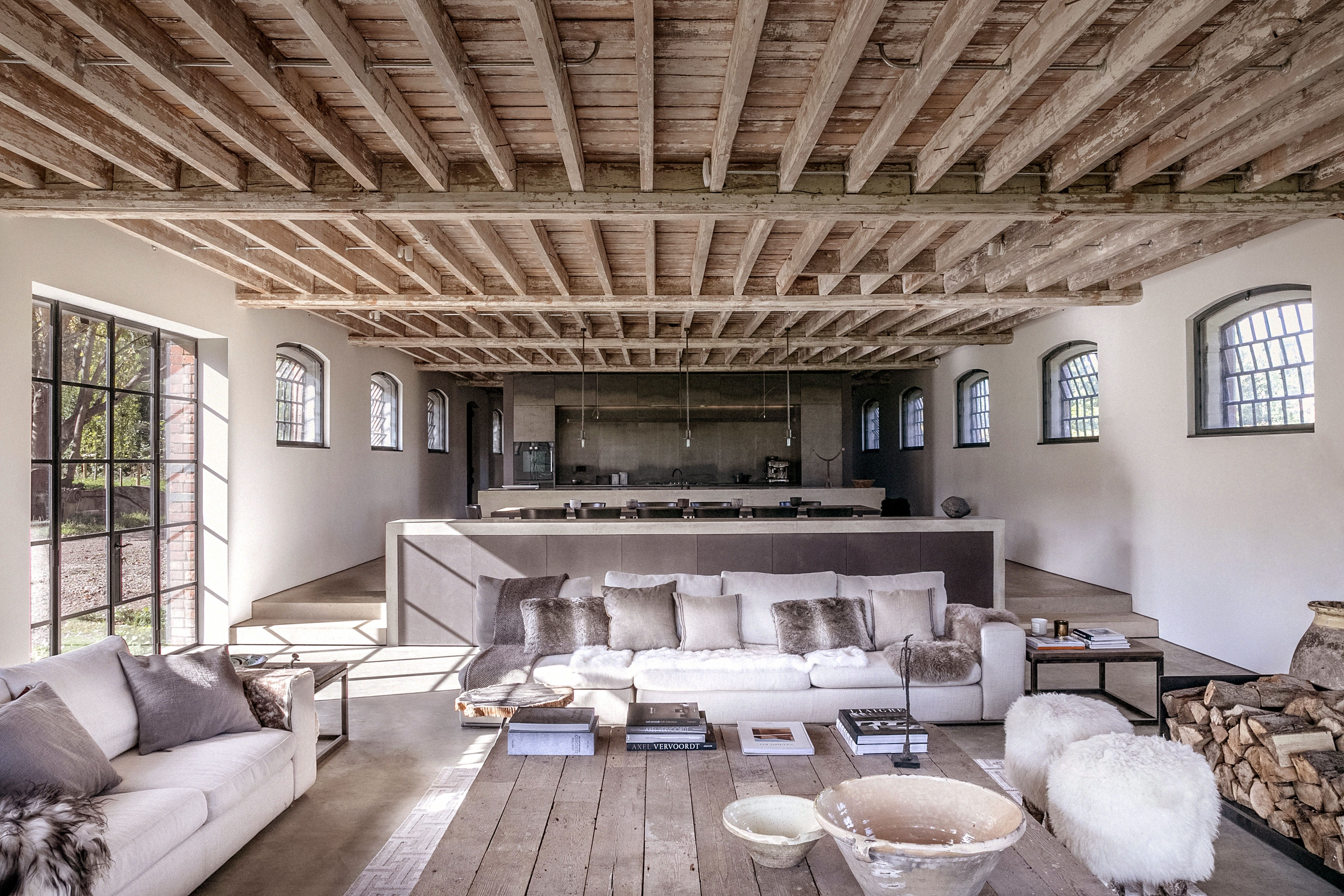 Historic Berkshire barn melds its agricultural past with a stylish future