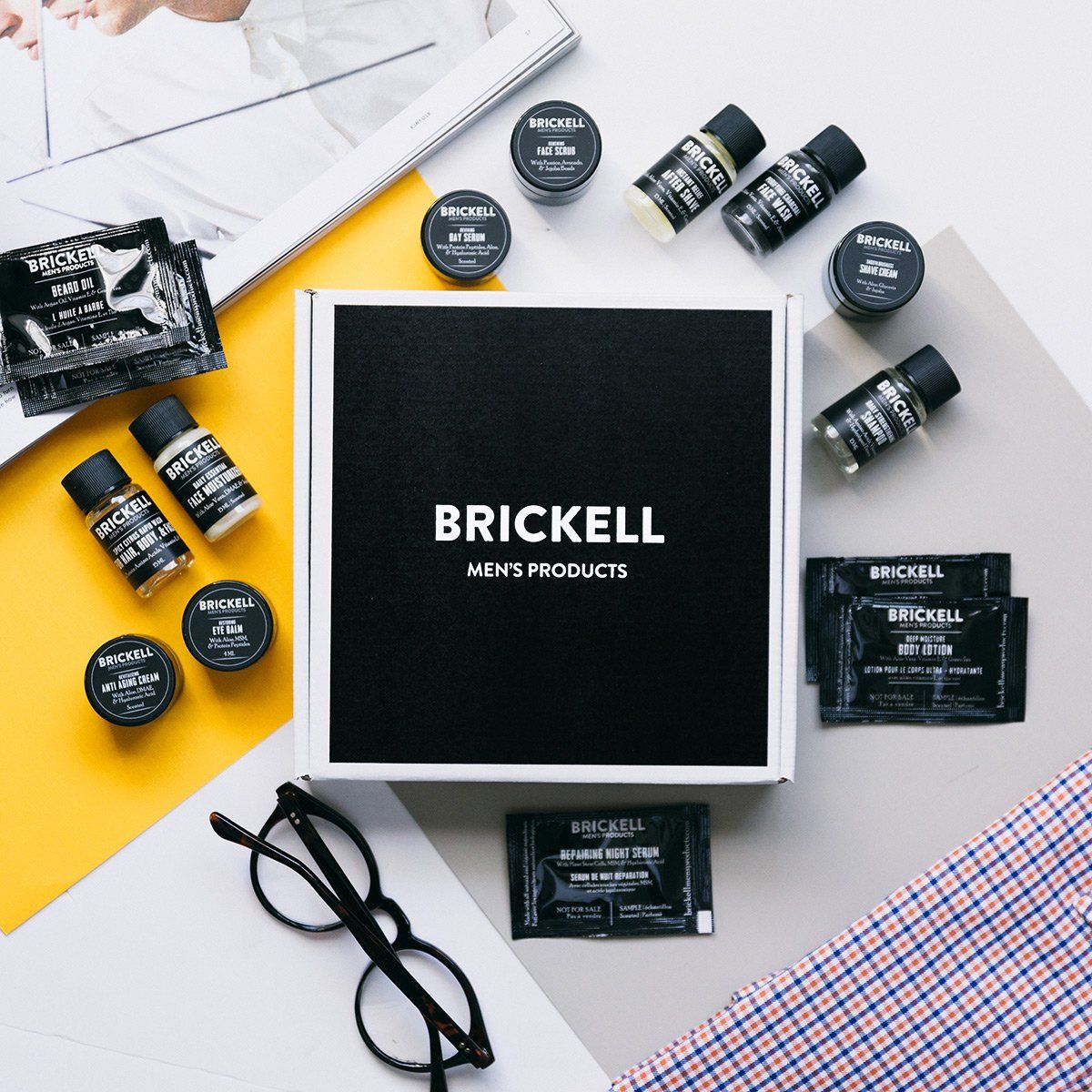 Need a Father's Day Gift on a Budget? Brickell Men's Grooming Kits are Free.