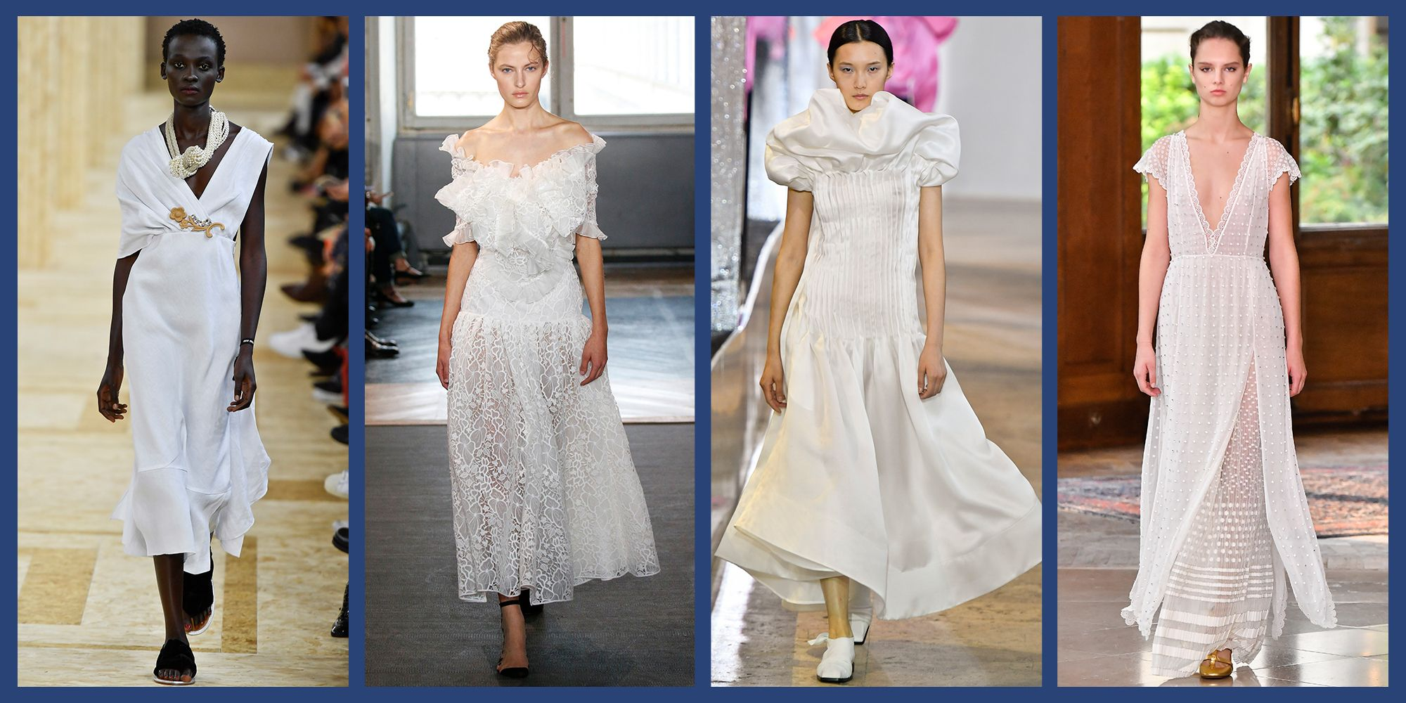 These 13 Dresses Give Bridal Week a Run for Its Money