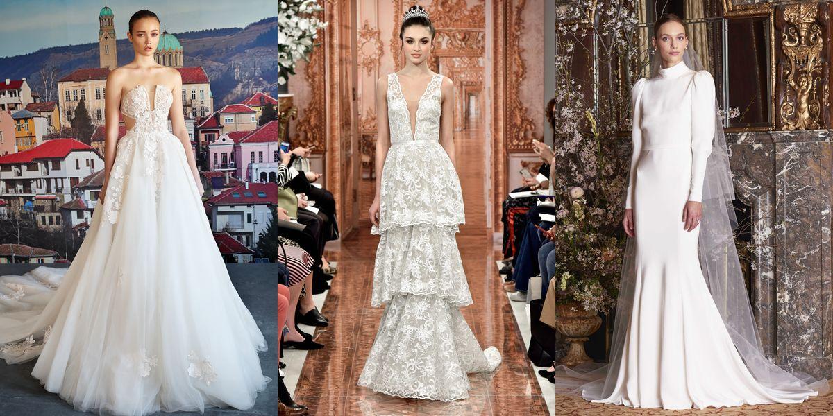 Spring 2019 Wedding Dress Trends