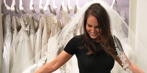 5e079ff0dbcf I Hated My Wedding Dress After I Bought It