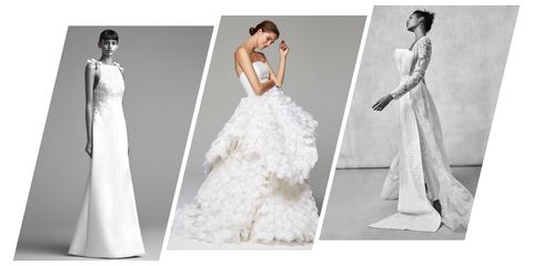 Gown, Wedding dress, Clothing, Fashion model, Dress, Bridal clothing, Photograph, Shoulder, Bridal party dress, Bride,