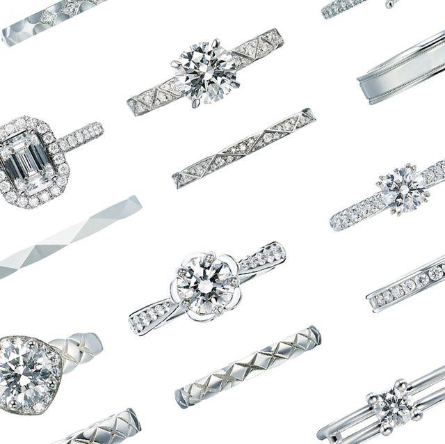 best website c2a1c 99e36 憧れブランドの人気リングをいっき見! 婚約&結婚指輪ベスト120 ...